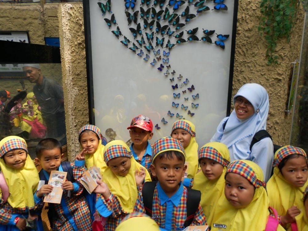 Kunjungan Edukasi SD Islam As-Salam ke Eco Green Park Batu