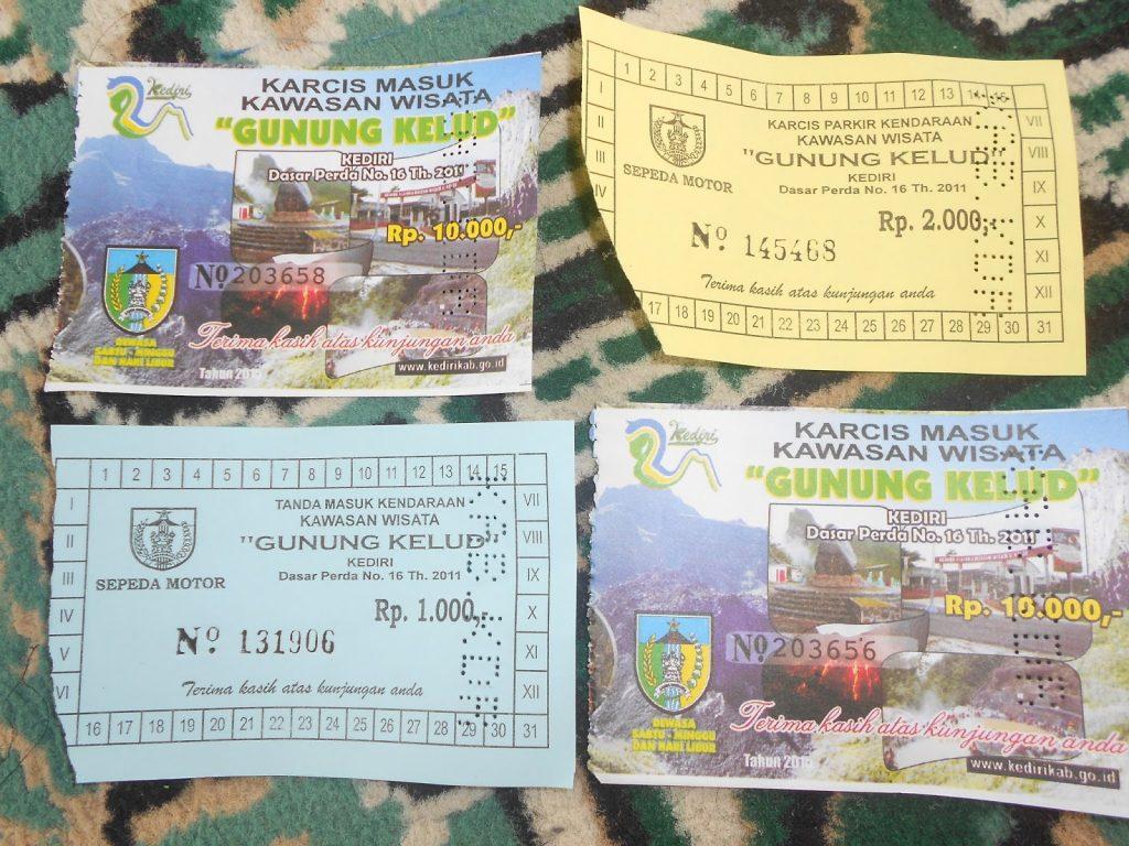 tiket ke gunung kelud