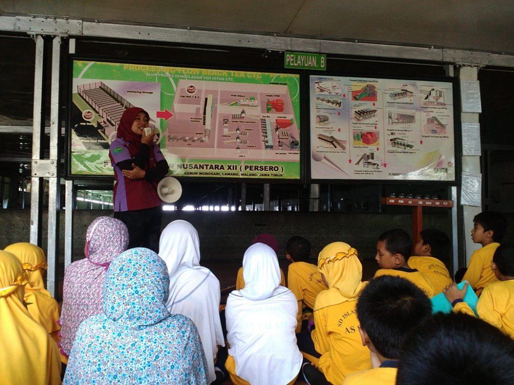 Kunjungan Edukasi ke Kebun Teh Lawang