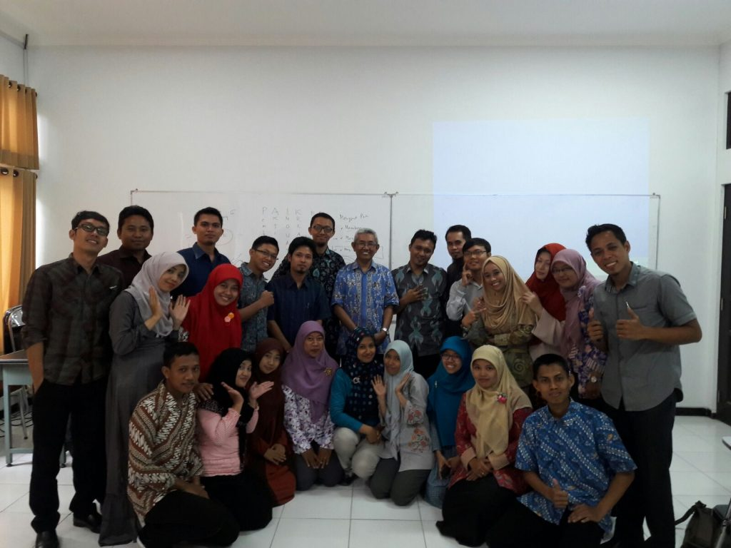 Bersama Bapak Prof. Dr. Muslimin Ibrahim, M.Pd