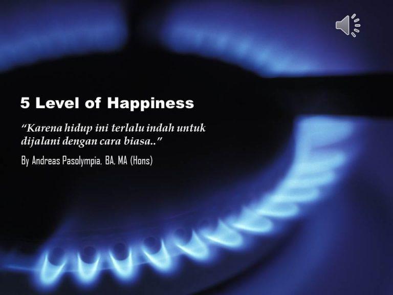 5 Level Kebahagiaan