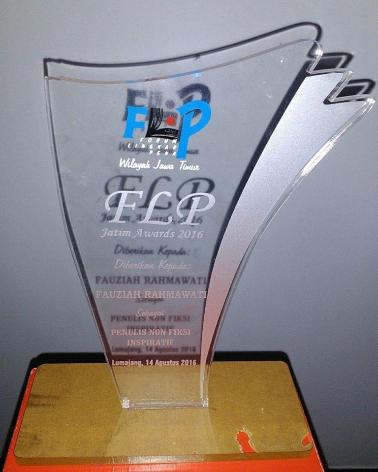 FLP Jatim Award 2016: Penulis non-Fiksi Inspiratif