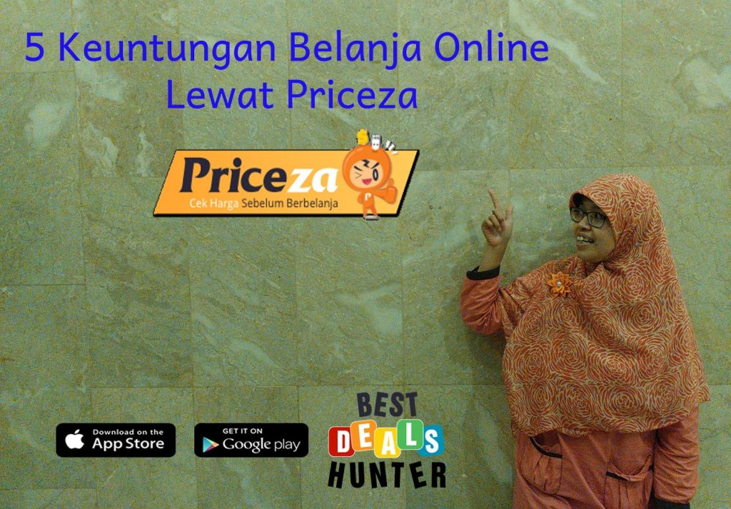 5 Keuntungan Belanja Online Lewat Priceza