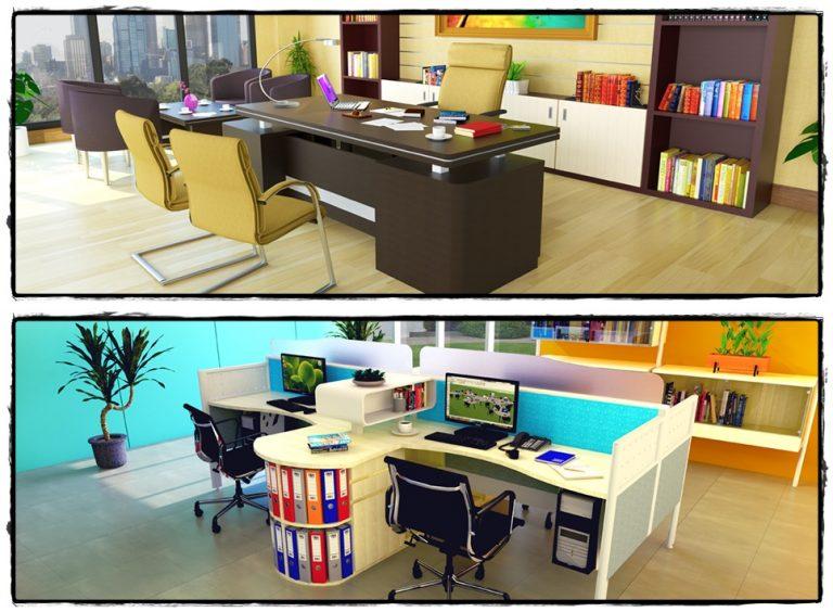 Kantor yang bagus dan keren akan memberikan kesan yang profesional