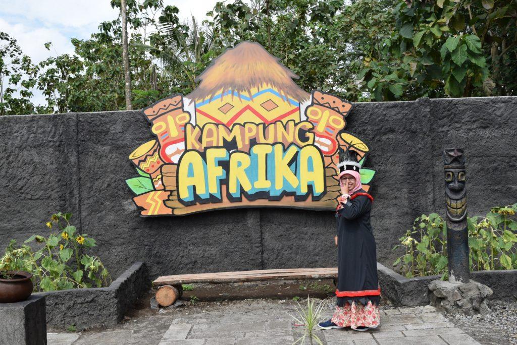 Berkelana di Kampung Afrika Blitar