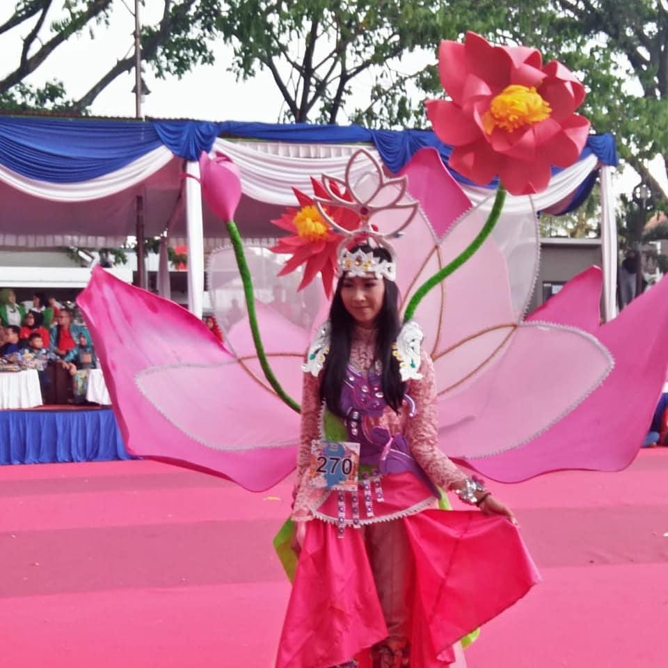 Warna-Warni Malang Flower Carnival 2019