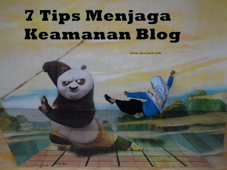 Tips menjaga keamanan Blog