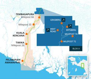 area operasional freeport