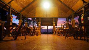 Pendopo Jawi saat malam