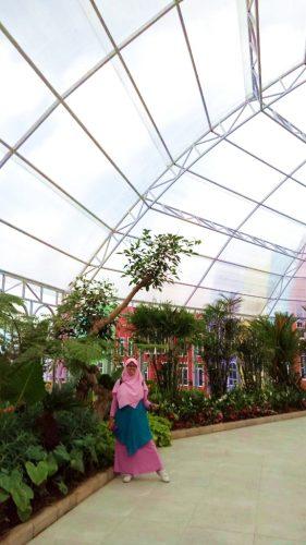 green house Flora Wisata Santera
