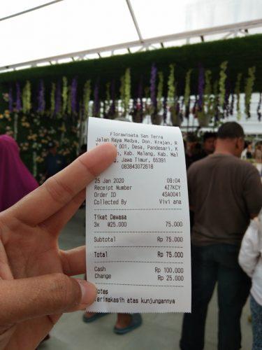 tiket Flora Wisata San Tera