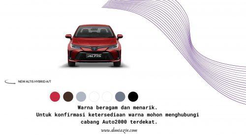 New Corolla Altis: Sedan Mewah dan Prestise