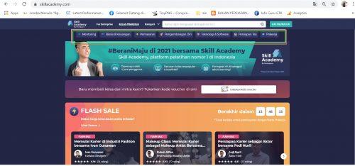 Cara Daftar Pelatihan Online Skill Academy Ruangguru