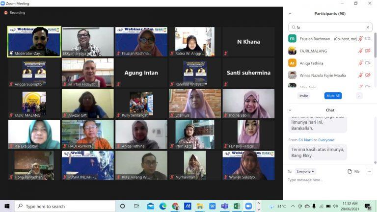 Webinar Nasional Film Forum Lingkar Pena (FLP)