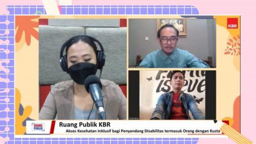 Talkshow Akses Kesehatan Inklusif bagi Penyandang Disabilitas termasuk Orang dengan Kusta