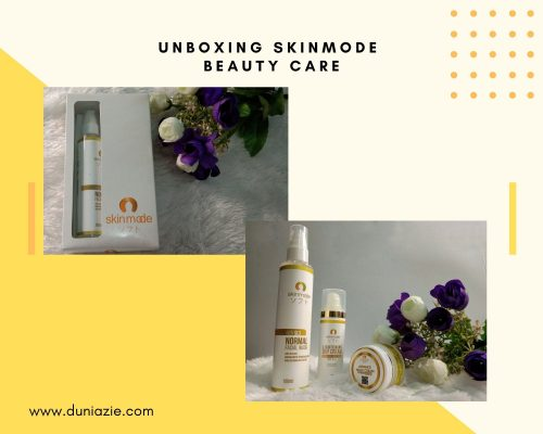 Unboxing Skinmode Beauty Care.