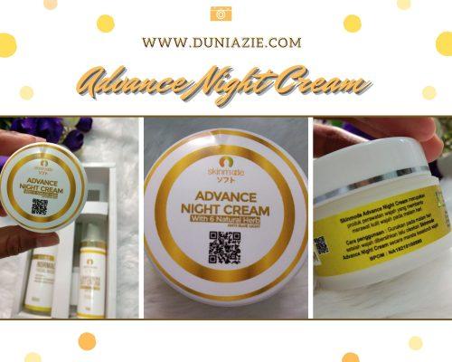 Advance Night Cream Skinmode